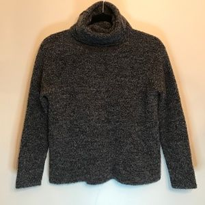 Eileen Fisher Chunky Knit Wool Cashmere Sweater